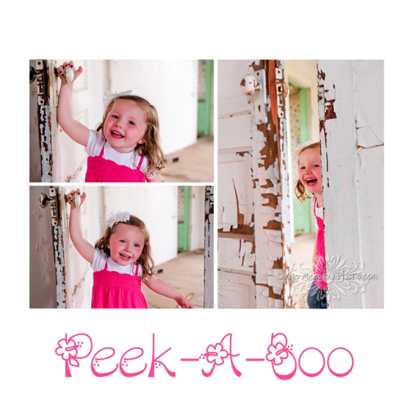 Peek-A-Boo collage